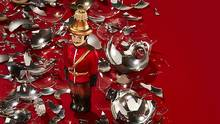 Mountie ornament, $29.99 at Flatiron's Christmas Market (416-365-1506). (Joesph Saraceno/Prop styling by Jason Charles Hatton for Judy Inc.)