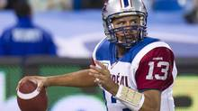 Montreal Alouettes quarterback Anthony Calvillo (Nathan Denette/THE CANADIAN PRESS)