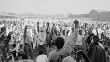 Attica prison riot, Sept. 9, 1972. (Associated Press)