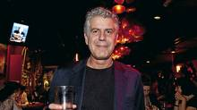 TORONTO: September 21, 2010 -- Chef and author Anthony Bourdain at the book signing of his most recent book Medium Raw at the Drake Hotel. (Della Rollins for The Globe and Mail/Della Rollins for The Globe and Mail)