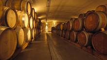 The cellars of Tawse Winery in Vineland, Ont., on the Niagara Peninsula.