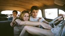 Sam Riley, Kristen Stewart and Garrett Hedlund in On the Road. (THE CANADIAN PRESS)