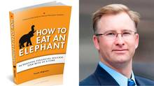 Frank Wiginton and his new book, How to Eat an Elephant: Achieving financial success one bite at a time.