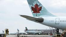 Air Canada provided funds to help settle Syrian refugee families in Canada. (Matthew Sherwood For The Globe and Mail)