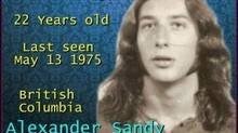 "Alexander ""Sandy"" Gammie is show in this undated image. For 38 years, Judy Samson endured heartbreak, frustration and uncertainty around the disappearance of her brother. RCMP in Kamloops, B.C., broke the news to her last week that the body of 22-year-old Gammie had been found in Vancouver in 1975 - the same year he went missing. (HO/THE CANADIAN PRESS)"