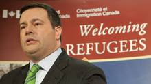 Minister of Citizenship, Immigration and Multiculturalism Jason Kenney speaks during an announcement in Ottawa, Monday March 29, 2010. (Adrian Wyld/Adrian Wyld/The Canadian Press)