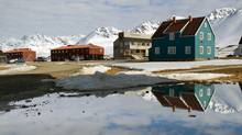 The scientific base at Ny-Alesund, Norway. A new Norwegian environmental index could be a step towards valuing a country's nature in statistics of gross domestic product (GDP). (MARTIN BUREAU/Martin Bureau/AFP/Getty Images)