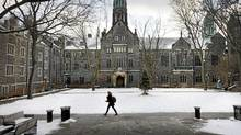Ten meditative spaces by Lisa Rochon: Trinity College quadrangle, trefoil landscape, a hidden inner sanctum, by Gh3 Architects. (Moe Doiron/The Globe and Mail/Moe Doiron/The Globe and Mail)