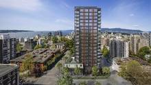 The Jervis, one of the first buildings approved in the city's new West End plan, will have two-bedroom condos ranging from $1-million to $4.5-million.