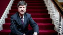 Renowned economist Jeffrey Sachs says he's disappointed by Canada's progress on the Millennium Development Goals. (Jimmy Jeong for The Globe and Mail)