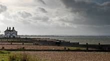 A pebbled beach, independent shops and the Sportsman gastropub up the road, Whitstable is a popular daytrip from London. (Getty Images/iStockphoto)
