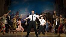 """A scene from the Broadway production of """"The Book of Mormon"""" (Joan Marcus)"""