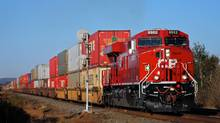 CP ranks as the least efficient of North America's Big Six railways, with operating costs equalling 82.4 per cent of its revenue in the first nine months of 2011. (Jack Kuiphoff/Canadian Pacific Railway/Jack Kuiphoff/Canadian Pacific Railway)