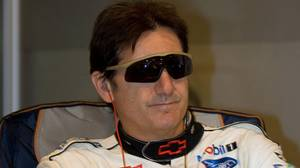 Ron Fellows during the 2008 24 Hours of Le Mans.