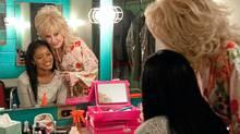 "Keke Palmer and Dolly Parton in a scene from ""Joyful Noise"" (Van Redin/Warner Bros.)"
