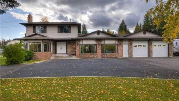 Location: Prince George, B.C. Asking price: $375,000 Square footage: 3,050 Year built: 1983