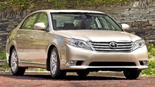 2011 Toyota Avalon (Paul Giamou Photo/Toyota)