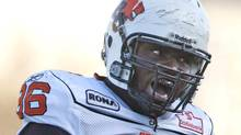 BC Lions defensive tackle Khalif Mitchell has turned to the piano in a effort to find some peace from the physical world of CFL football. FILE PHOTO: THE CANADIAN PRESS/Liam Richards (Liam Richards/CP)