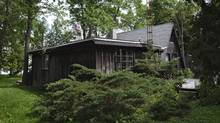 Unless someone writes a cheque, the cabin built by a great Canadian poet on the shores of Roblin Lake will be sold, and perhaps torn down (Kevin Van Paassen/Kevin Van Paassen/The Globe and Mail)