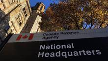 The Canada Revenue Agency headquarters in Ottawa is shown on November 4, 2011. (Sean Kilpatrick/THE CANADIAN PRESS)