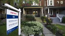 Toronto's housing market has shown signs of cooling down. (Galit Rodan/The Globe and Mail)