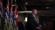 B.C. Finance Minister Mike de Jong is seen in a September 2012 file photo. (CHAD HIPOLITO/THE CANADIAN PRESS)