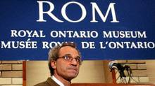 Dan Rahimi, Director of Collections Management at the Royal Ontario Museum. (J.P. Moczulski/J.P. Moczulski)