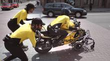 BGL Rapides et dangereux, 2005 motorcycle and video documentary.
