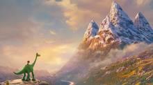 A scene from The Good Dinosaur (DisneyPixar)