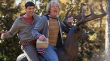 Harry and Lloyd are back in Dumb and Dumber To, not as loveable losers but loudmouth louts. (Hopper Stone/Universal Pictures/ASSOCIATED PRESS)