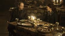 "The ninth chapter of the show's third season will forever be known as ""The Red Wedding"" episode for the horrific turn of events that unfolded at the wedding between two regular characters. (HELEN SLOAN)"