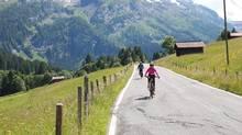 E-biking in Switzerland: boomers have an 'insatiable desire' for travel. (Glyn Manwaring-Jones)