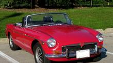 Dave Burns spent $3,000 in 2001 for this 1973 MGB and has since spent countless hours to make it look great and run superbly. (Dave Burns)