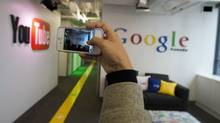 Google's share price has gained 30 per cent over the past twelve months. (Frank Gunn/THE CANADIAN PRESS)