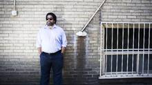 André Alexis surveys Toronto's Parkdale neighourhood, the setting of his new novel, The Hidden Keys. (Michelle Siu/The Globe and Mail)