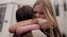An emotional ad for Skype about two girls with a special connection meeting for the first time, has been making the rounds on social media. (Skype)