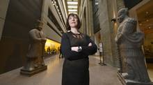 With social media, says the ROM Director and CEO Janet Carding, people 'are looking for something they can personalize or customize and be part of.' (FRED LUM/THE GLOBE AND MAIL)