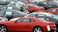 Cars, which are mass-produced and yet spend most of the time in the garage, are a prime example of inefficient use of resources. (Kevin Van Paassen/The Globe and Mail)