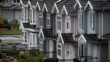 There were 4,172 properties sold last month in Greater Vancouver, including suburbs such as Burnaby and Richmond. (DARRYL DYCK For The Globe and Mail)