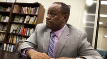 TDSB director of education Chris Spence acknowledged that the board could use the help from an Ontario government team advising on how to fix its operations. (PETER POWER/THE GLOBE AND MAIL)