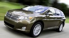2009 Toyota Venza (Bill Petro/Toyota)