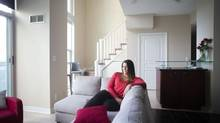 Lauren Mark's Mississauga loft is as perfect for her life now as it will be in 50 years. (Chris Young For The Globe and Mail)