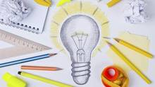 Light bulb drawing, inspiration concept (didecs/Getty Images/iStockphoto)