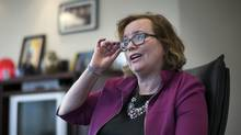 Tracy MacCharles, the Ontario Minister for Youth and Children Services, is photographed in her Toronto office on April 20, 2016. (Fred Lum/The Globe and Mail)