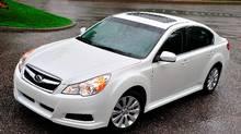 The 2010 Subaru Legacy is more streamlined and upscale. (Subaru)