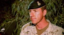 Brigadier-General Dan Menard is shown on April 11, 2010. (MURRAY BREWSTER/THE CANADIAN PRESS)
