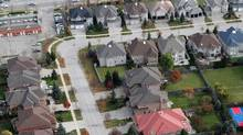 Aerial views Markham, Ont. (Fernando Morales/The Globe and Mail)