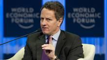 U.S. Treasury Secretary Timothy Geithner (JOHANNES EISELE)