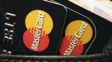 MasterCard credit cards are seen in this file photo. (JONATHAN BAINBRIDGE/JONATHAN BAINBRIDGE/Reuters)