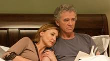 "Brenda Strong and Patrick Duffy in a scene from an episode of the new ""Dallas"" series (Zade Rosenthal)"